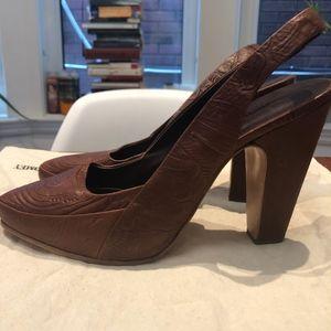 Beautiful Brown Never Worn Rachel Comey Heels Size